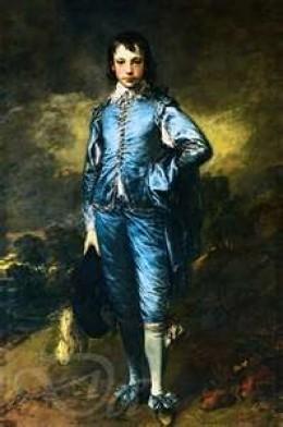 """""""Blue Boy"""", by Thomas Gainsborough, c. 1770"""