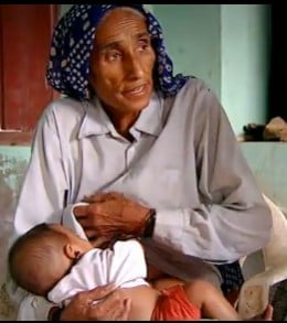 Never too late? Rajo Devi in India had her baby using a donor egg at the age of 70 in 2009. Her husband was 73. Eighteen months later, Bhateri Devi (no relation) became the oldest mother of triplets at 66.