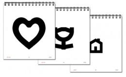 Pediatric Eye Chart Symbols (Hanks Pediatric Eye Chart).