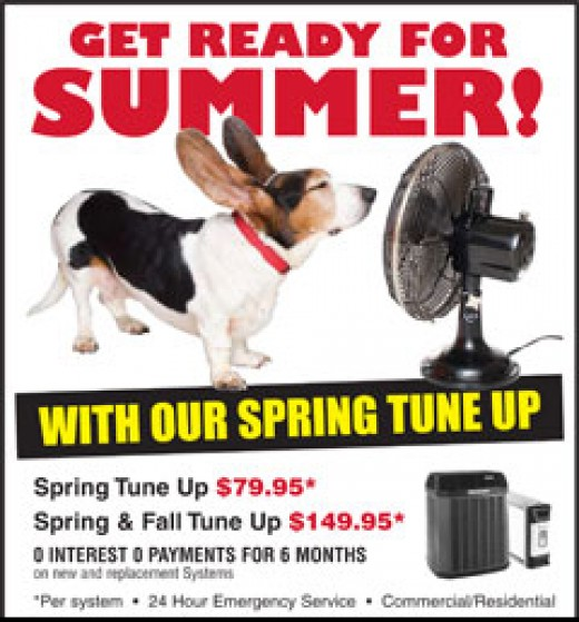 spring or summer home air conditioning tune up checklist hubpages. Black Bedroom Furniture Sets. Home Design Ideas