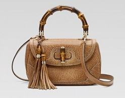 Bamboo Shoulder Bag by Gucci- $1830 at Gucci.com