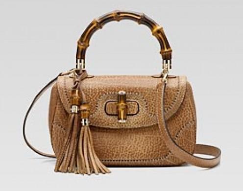 Bamboo Shoulder Bag by Gucci- $1830 at Gucci.com