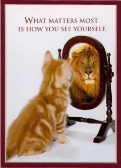 When you look in the mirror, what do you see?
