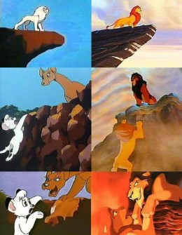 The lion king cartoon movie information and facts