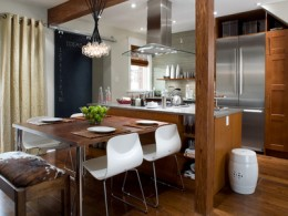 Example of a modern kitchen decor
