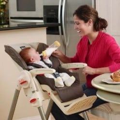 Baby High Chair reviews - Chicco Polly High Chair: Great Baby High Chair Idea