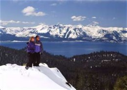 Lake Tahoe Winter Hiking