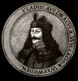 Vlad Tepes (the Impaler) gave his nickname to Stoker's vampire: Dracula.