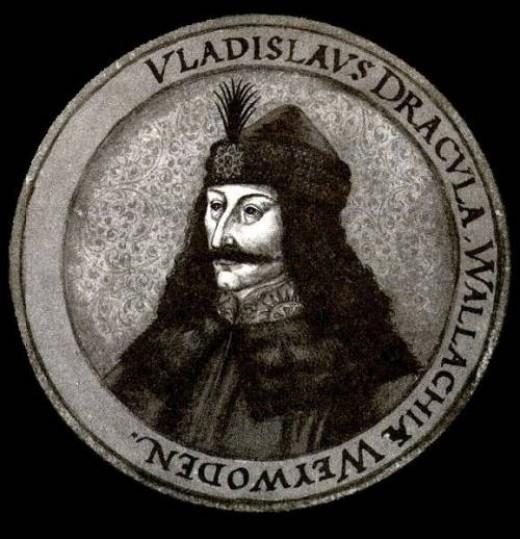 Vlad Tepes (the Impaler) gave his nickname to Stoker's vampire: Dracula.