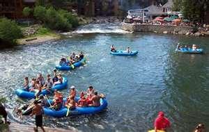 River Rafting -Truckee River near Lake Tahoe