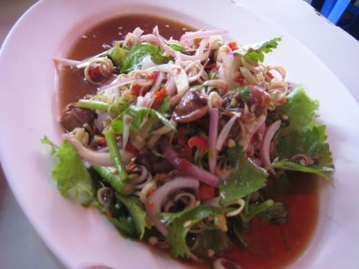 Pork Liver Salad