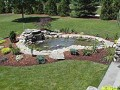 How to make a small water garden or fish pond.