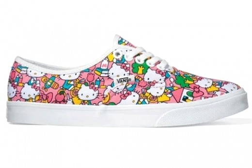 Hello Kitty is back with another collab. And this time she has teamed up with Vans.