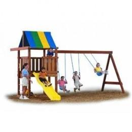 Build a Wooden Swing Set / Swing Set Plans / Hardware Kit / Blueprint