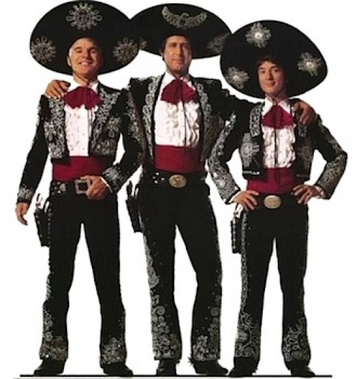 "Steve Martin, Chevy Chase, Martin Short are the ""Three Amigos!"""