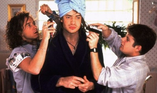"Pauly Shore, Brendan Fraser and Sean Astin ""Encino Man"""