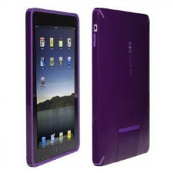 Speck CandyShell iPad Case - Hard Shell with Soft Touch and Flip Door for iPad Dock