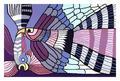 Purple flighting cocks Picture: Picassomio.com