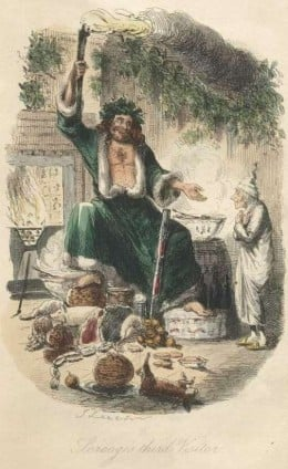 Christmas Ghost (Pictures scanned by David Widger from the 1843 first edition. Found online at gutenburg.org)