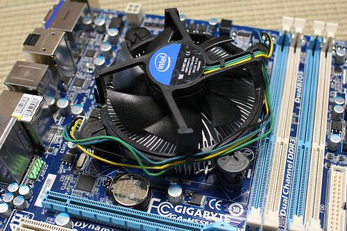 A high-end CPU heatsink.