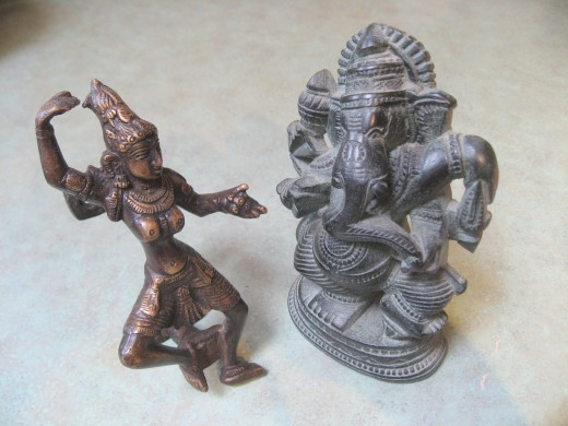 Ganesh dances with his girfriend