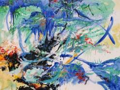 Catskills Area Painter Calvin Grimm's Deep Ocean/Deep Space Series