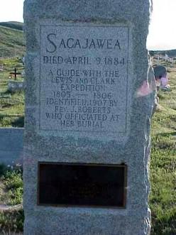 Grave of Sacajawea