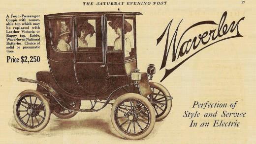 1910 Waverley Electric Car