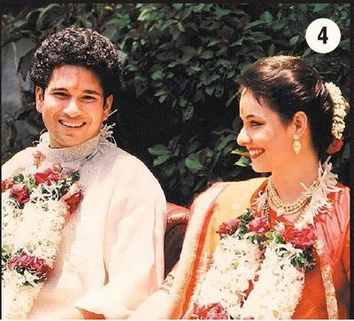 Sachin Tendulkar Marriage Photo