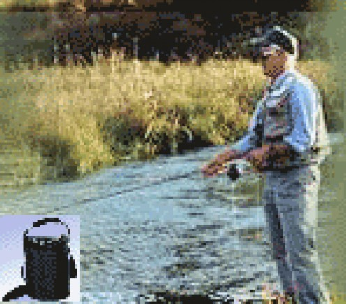 Quality of Life - Means Fishing thanks to a portable oxygen concentrator.