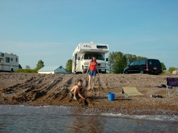 Canada RV Travel with American Cruise Camper
