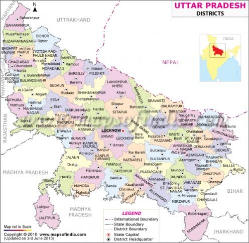 Districts in Uttar Pradesh