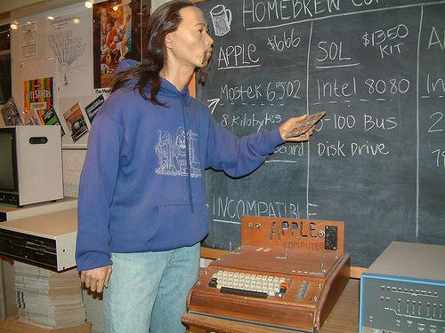 Woz and 1st Apple Computer/Smithsonian