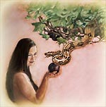 Eve listens to the snake