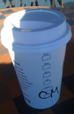 Get a free Starbucks coffee with an empty Starbucks coffee bag.