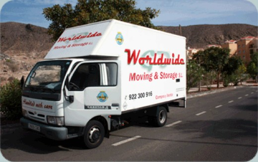 Go Worldwide Moving and Storage S.L. removals on the road
