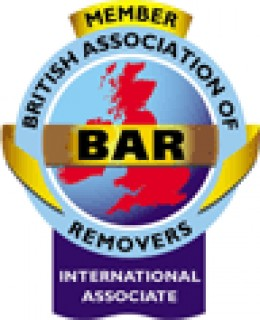British Association of Removers logo