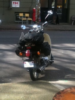 I bought my scooter at Vespa Portland