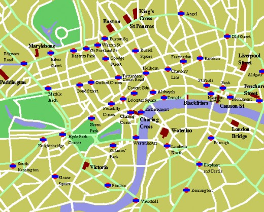 Plan your days with a london Map