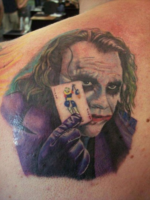 Joker tattoos for The joker tattoo