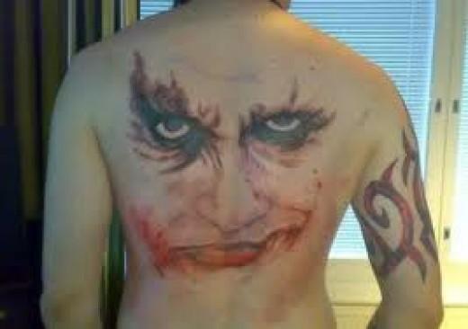 Joker tattoos for Tortured souls tattoo