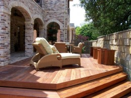Patio Wood Deck Flooring