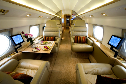 Some people use private jets that are very heavy fuel consumers. Commercial jets and military jets all are heavy fuel consumers,