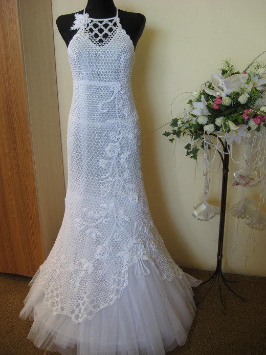 free crocheted wedding dress pattern crochet tutorials
