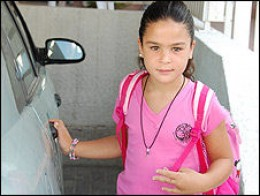 Will she get through her school day, or will she be killed on the playground by Hamas?