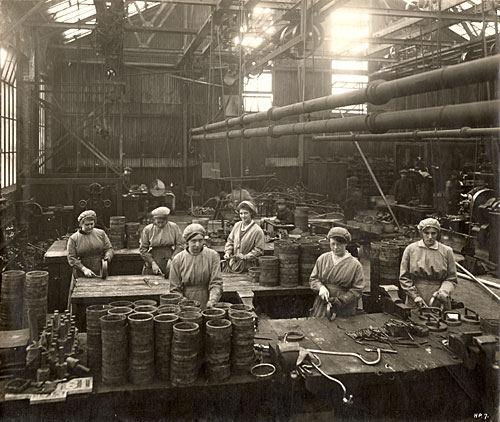 Munition Workers, Glasgow 1914