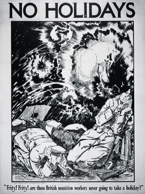 Munitions Propaganda Poster of World War One
