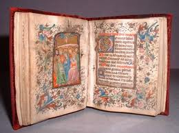 The Book of Hours - a handwritten book.