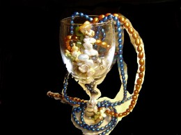 My glass runs over with beautiful and magical  pearls.