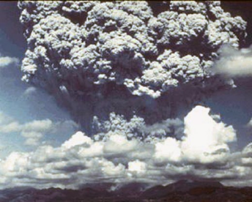 A super volcanic eruption is another challenge to any budding civilization. Sometimes impacts and super volcanoes occur together.